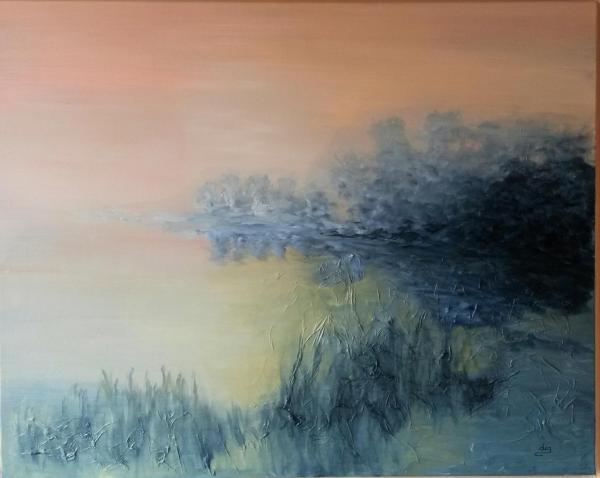 Douceur matinale sur l'étang