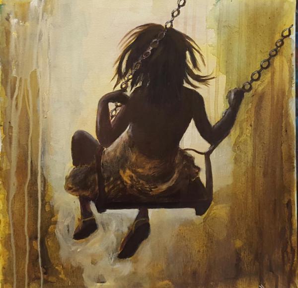 Petite fille à la balançoire 2