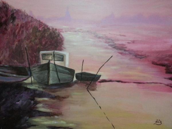Un matin sur le marais